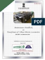 Maintenance Handbook on Transformer of 3 Phase Electric Locomotive