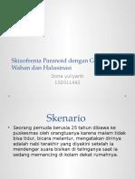 Dona Sken 8-Skizofrenia Paranoid Dengan Gannguan Wahan Dan Halusinasi