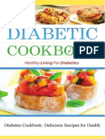 Diabetic Cookbook Healthy Living For Diabetes