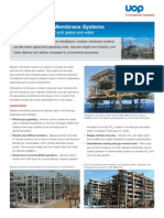 Uop Separex Membrane Systems Brochure