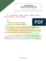 A.3.3 Sistema Respiratório Humano Ficha de Trabalho 1 Soluções