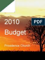 2010 Budget Paper