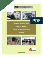 TUNEL - Proyecto Manual de Carreteras Tuneles Muros y Ob Comp_Volumen I y II
