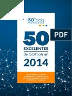 50 Excelentes Isotools 2014