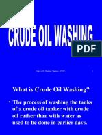 Crude Oil Washing