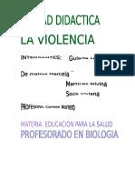 Violencia Unidad Didactica