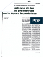 Munzer_La Decadencias de Las Fuerzas Productivas en La Época Imperialista