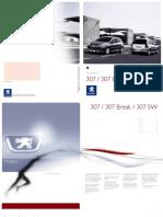 Manual de Usuario Peugeot 307SW