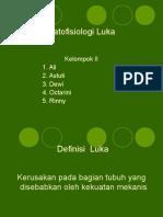 Patofisiologi Luka