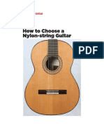How to Choose a Nylon String Guitar