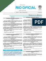 Diario oficial de Colombia n° 49.762. 21 de enero de 2016