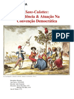 Sans-Culottes- Revolução Francesa