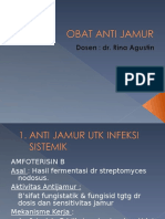 Farmakologi Obat Anti Jamur