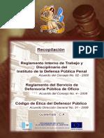folleto reglamento interno de trabajo y disciplinarioIDPP