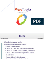 iWare Logic, An Oracle Gold Partner.