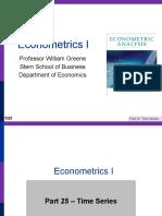 Econometrics I 25