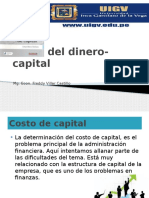 1. Costo Del Dinero Capital