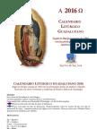 CALENDARIO GUADALUPANO