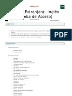 Programa Inglés
