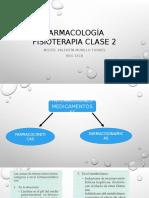 Farmacología Fisioterapia Clase 2
