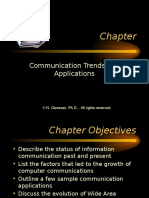 Communication Trends and Applications