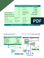 Calculo PR Cogeneracion SGCHccombinado