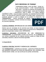 Contrato de Trabajo Individual Hector Omar