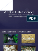 What is Data Science (Slides)