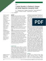 Impulse control disorders in Parkinson's disease