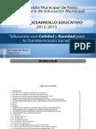 Pasto Pd Educativo 2012 2015