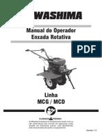 Manual Enxada Rotativa Linha MCG e MCD V1.5