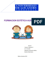 Trabajo Singular Formacion Estética Audiovisual
