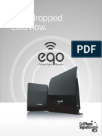 WeBoost Eqo Cell Phone Signal Booster Brochure