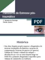 Transtorno de Estresse Pós-traumático CONCLUSAO