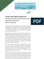 (14) Verkehrsentwicklung I Quartal 2010