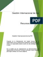 Gestión Internacional Del Trabajo.