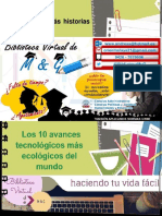 10 AVANCES TECNOLÓGICOS PARA LA ECOLOGIA