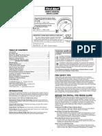 First Alert 7010B Smoke Detector Manual