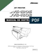 Manual de Operação JV5 130S - 160S