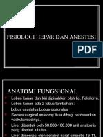 34. Fisiologi Hepar Dan Anestesi. Morgan