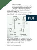 Continuous Distilation Process Description