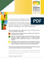 DocFlow segnala le novità importanti alla chiusura della SharePoint Conference 2010