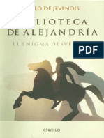 Jevenois Pablo - Biblioteca de Alejandria - El Enigma Desvelado