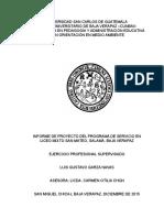 Informe Proyecto Servicio