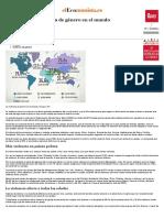 El Mapa de La Violencia de Género en El Mundo - EcoDiario.es