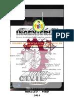 Informe de Tecnologia Del Concreto - Cantera Chullqui - Huanuco -Perú