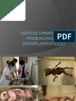 Aborsi Infantisid New