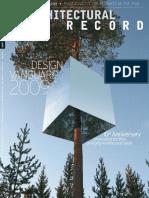 Architectural Record Magazine December 2009