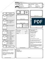 Character Sheet DND - Dragonborn