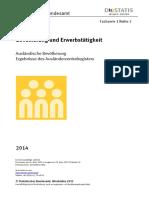 Datos en Brutos de Regiones Inmigrantes en Alemania